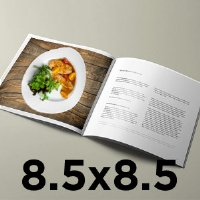 6x9 inches soft cover perfect bound book printing at printpapa